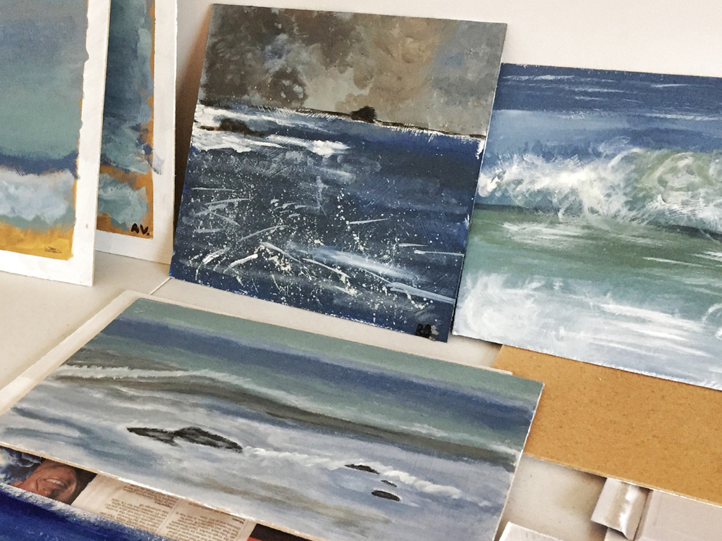 Some of the results from the Accountants Seascape workshop