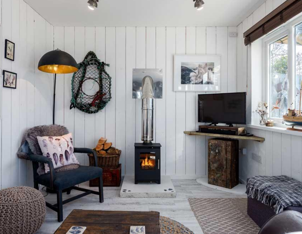 Lovely woodburner to keep you warm